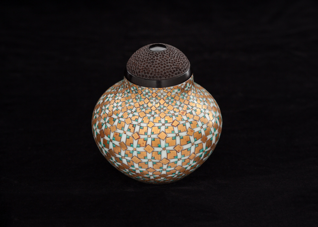 , 'Jeweled Tea Caddy with Turned Lid,' 2010-2018, Studio 21 Fine Art