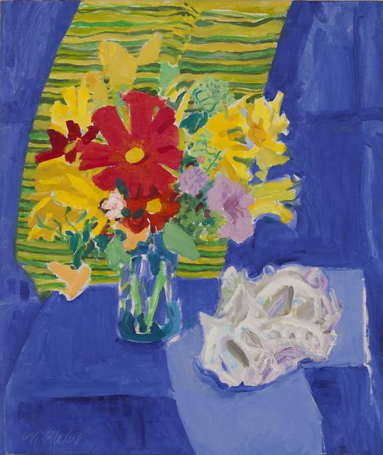 , 'Blue Cloth,' 1980, Tibor de Nagy