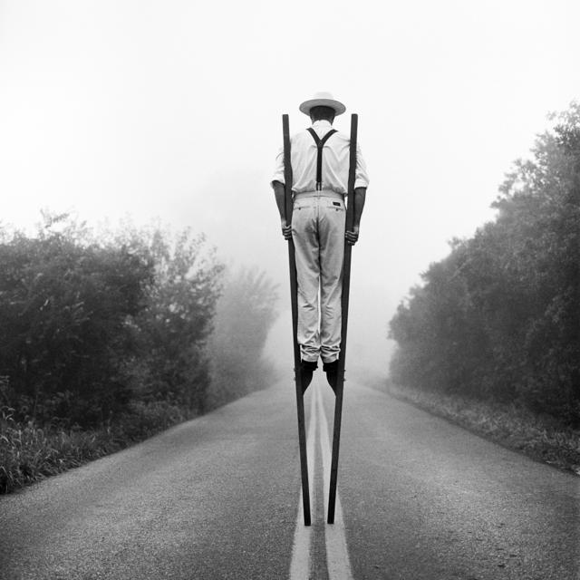 Rodney Smith, 'Don on Stilts No. 3, Monkton Maryland', 1999, Gilman Contemporary