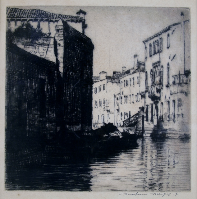 Mortimer Menpes, 'Sunlight and Shadow, Venice', ca. 1910, Private Collection, NY