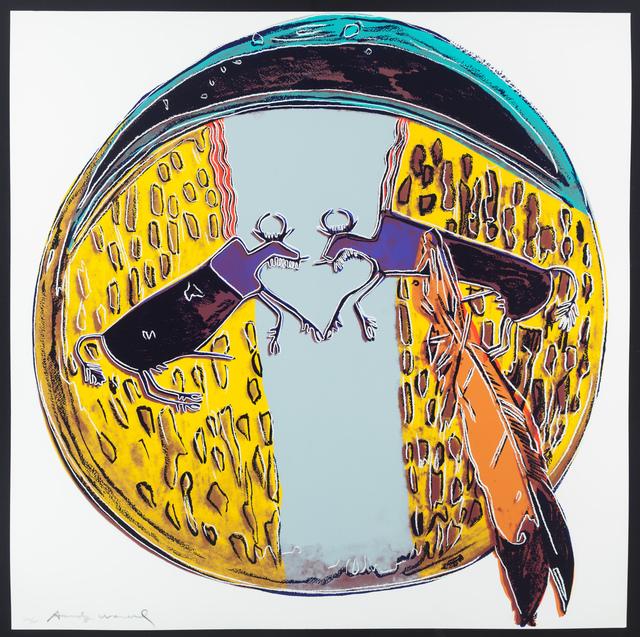 , 'Plains Indian Shield,' 1986, ACA Galleries