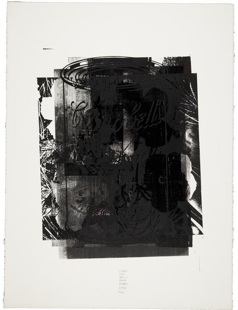 Andy Warhol, 'Untitled (See F. & S. II.120)', 1974, Print, Screenprint in black on paper, Christie's Warhol Sale