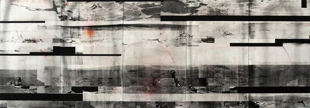 , 'Recollections of Stones Unturned - GLTCH BLK,' 2016, Kent Fine Art