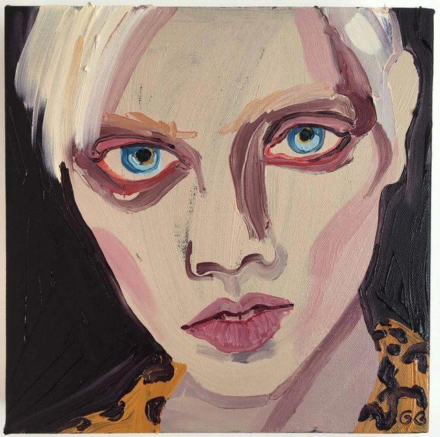 , 'Marjan,' 2016, James Freeman Gallery