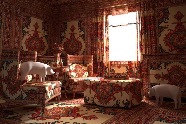 Farid Rasulov, 'Pigs in the lounge', 2014, Sanatorium