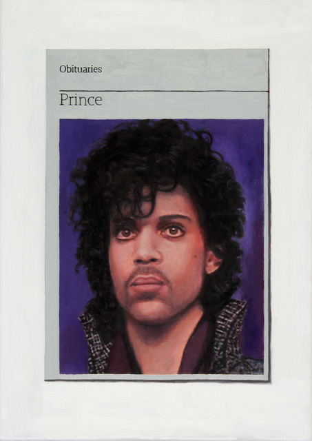 , 'Obituary: Prince,' 2016, Charlie Smith London