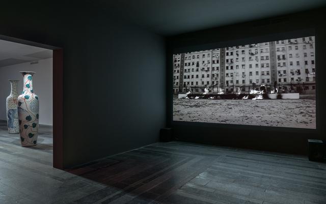 , 'Burned Word,' 2012, PinchukArtCentre