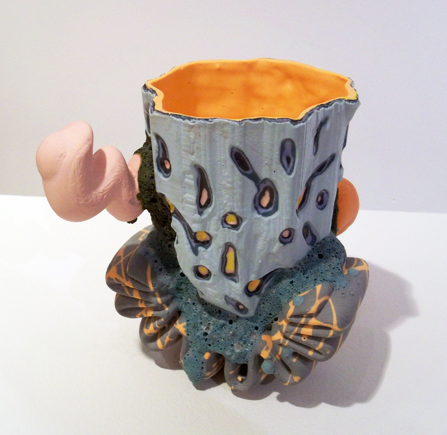Joey Watson, 'Beverage Vessel with Squiggle Tread ', 2016, Duane Reed Gallery