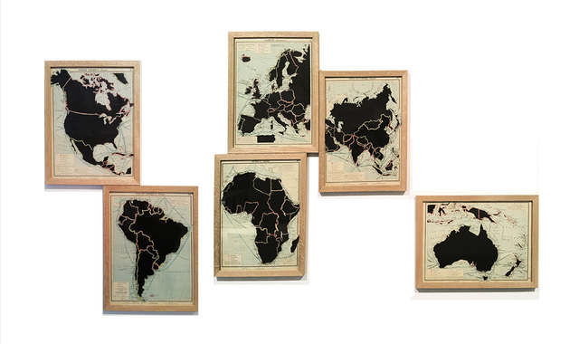 , 'De la serie: The Comparative Atlas. London 1948,' 2017, Aura