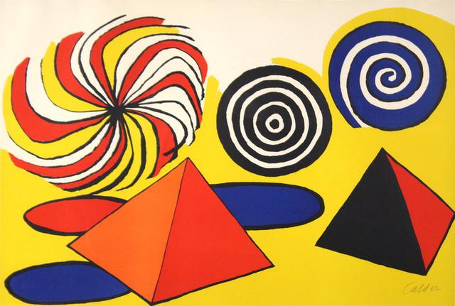 Alexander Calder, 'Pyramids & Spirales de Couleurs', Heather James Fine Art: Benefit Auction 2017