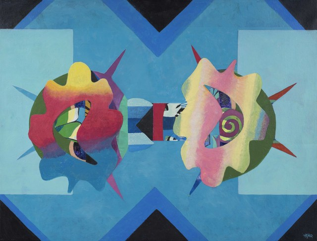 , 'Battle of flowers,' 1968, Alon Zakaim Fine Art
