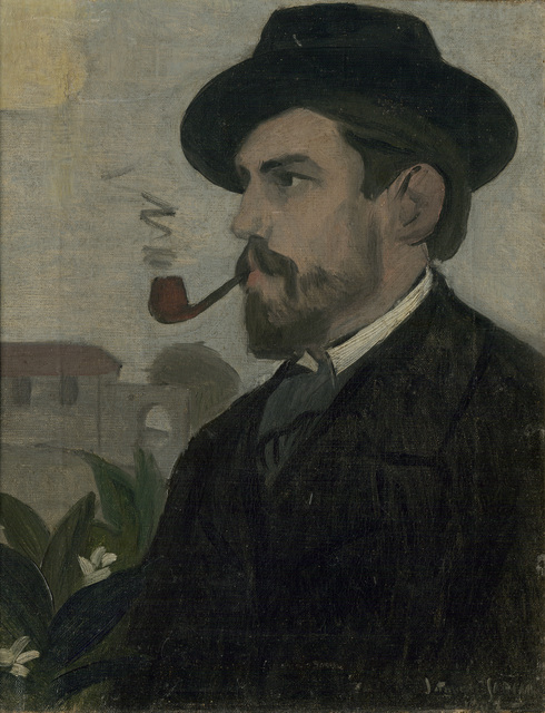 , 'Autorretrato (Self-portrait),' 1902, The Museum of Modern Art
