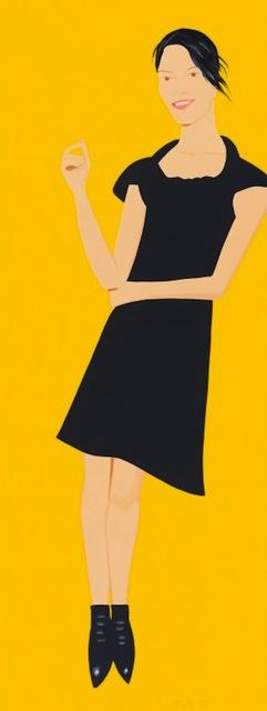 Alex Katz, 'Black Dress Portfolio - Carmen', 2015, Gregg Shienbaum Fine Art