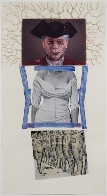 Matthew Weinstein, Louise Fishman, and Douglas Kolk, 'Exquisite Corpse 116,' ca. 2011, Mana Contemporary