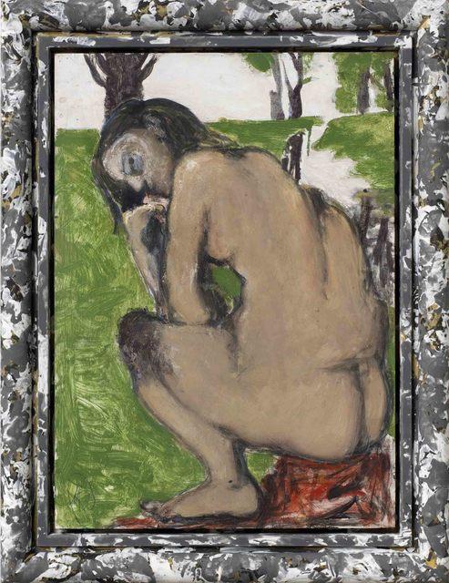 """, '""""Ohne Titel (Märkisch)"""",' 2014, Michael Werner Gallery"""