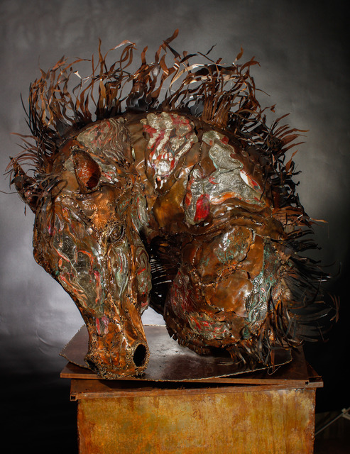 Daniel Oropeza, 'Horse Head', 2015, Berman Arts Agency - Sculpture to Wear