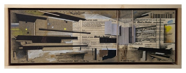 , 'scaffoldings 24 - once I was a house 3 ,' 2012, Litvak Contemporary