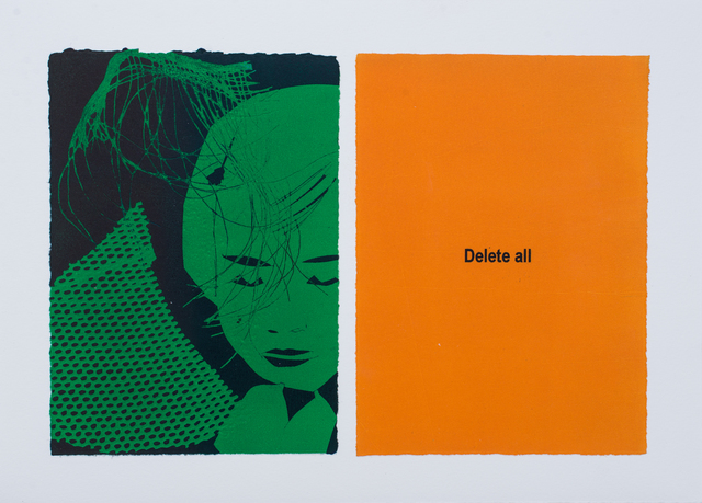 , 'Future Business (Delete All),' 2015, Meislin Projects