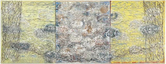 , 'Triptych I,' 2014, C. Grimaldis Gallery