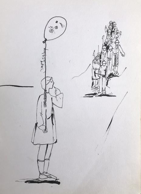 , 'Diary #3,' 1989, Zawyeh Gallery
