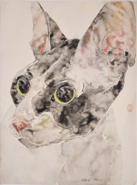 Weiqi Wang, 'On the Alert', 2014, Ronin Gallery