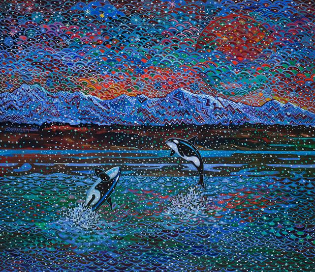 , 'The Black Fish Dance,' 2016, Linda Hodges Gallery