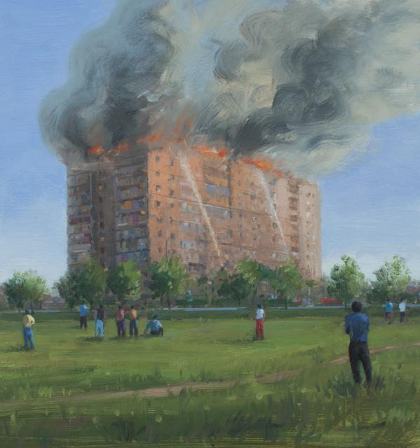 , 'Fire,' 2014, Galeria Plan B