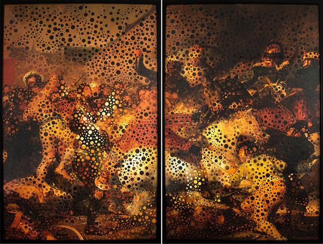 , 'Da série Questões de Tempo, 02 e 03 de Maio [From the series Matter of Time, May 2nd and 3rd],' 2008, Casa Triângulo