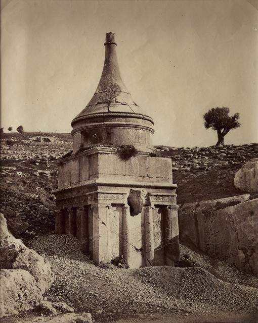 , 'Jérusalem, Tombeau de Absalom,' ca. 1880, Vision Neil Folberg Gallery