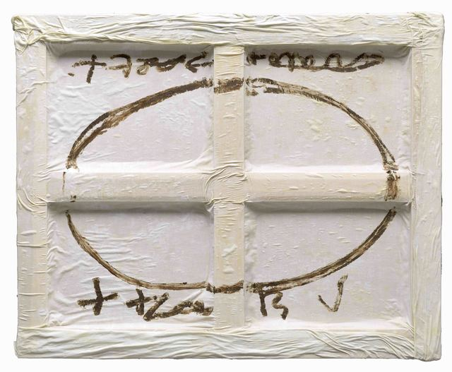 , 'Oval sobre blanc,' 2009, Galeria Jordi Pascual