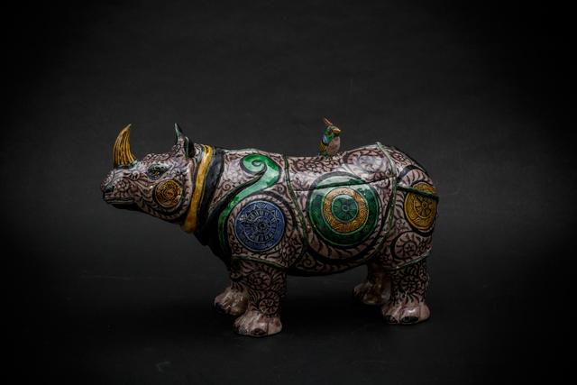 , '13. Purple Rhino,' 2017, Sladmore Contemporary