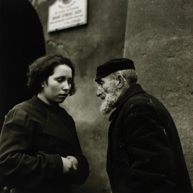 Roman Vishniac, 'Warsaw. Grandfather and Granddaughter.', 1938, Howard Greenberg Gallery