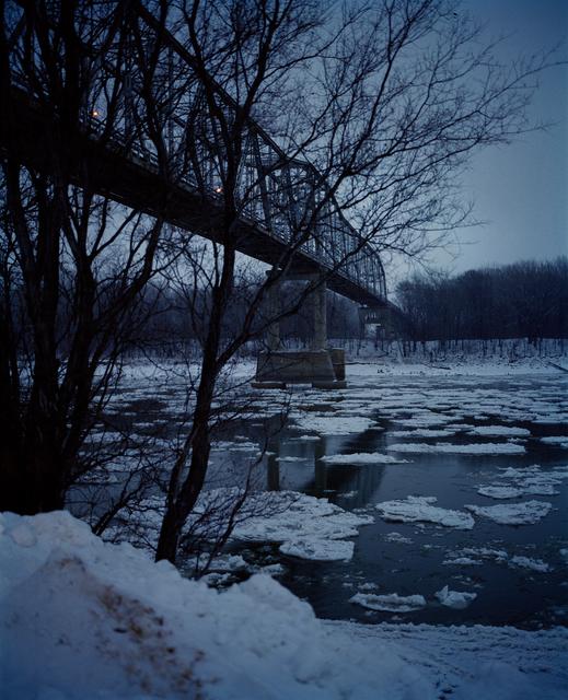, 'Bridge (Evening), Omaha, NE,' 2005-2018, Huxley-Parlour