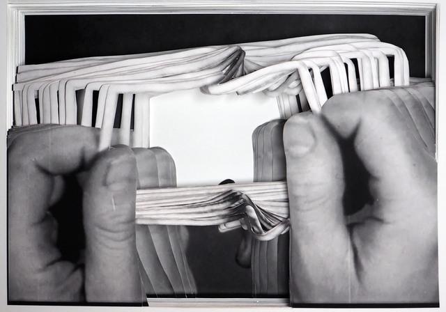 , 'Kristall (What is money VII /A),' 2015, Raum mit Licht