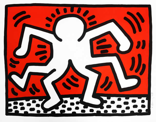 """Keith Haring, '""""Untitled"""" Double Man', 1986, Oliver Clatworthy"""