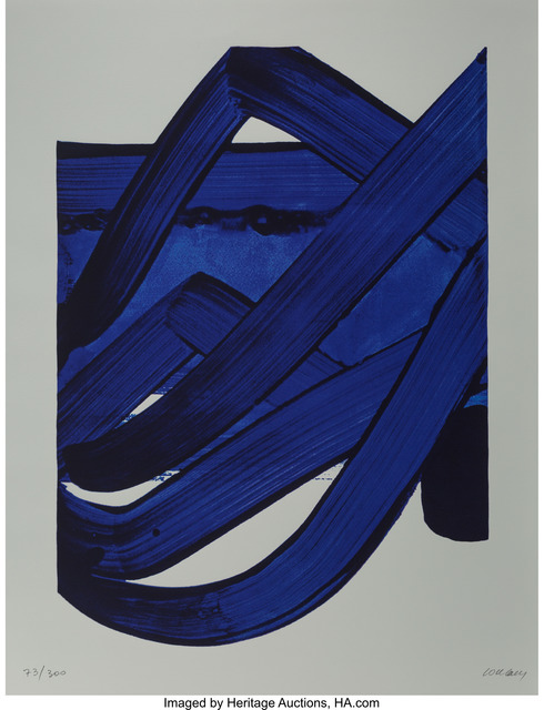 Pierre Soulages, 'Composition, from Official Arts Portfolio of the XXIVth Olympiad, Seoul, Korea', 1988, Heritage Auctions