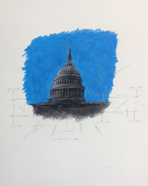 , 'United States Capitol Dome in Space,' 2014, Octavia Art Gallery