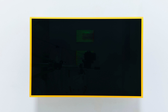 , 'colormirror black orange bonn,' 2019, Galerie Judith Andreae
