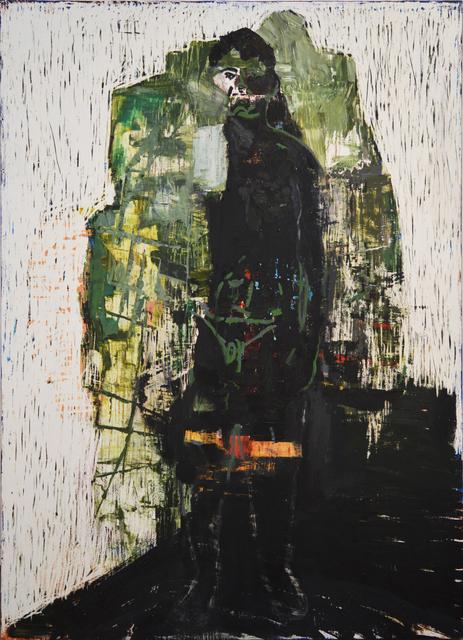 , 'Green Figure,' 2015, Olga Korper Gallery