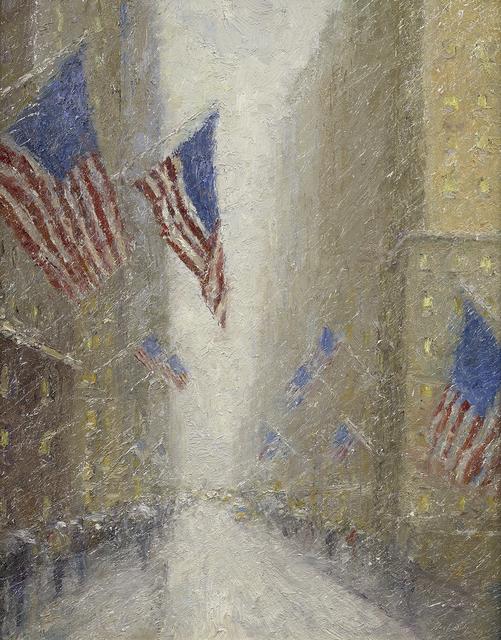 , 'Manhattan Flags,' 2019, Rehs Contemporary Galleries