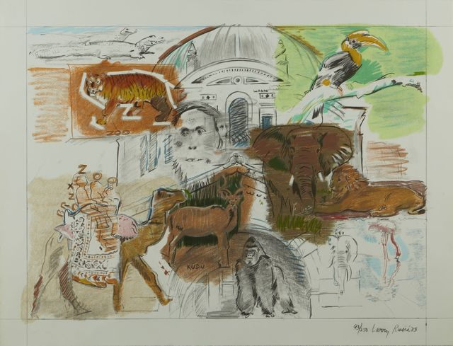Larry Rivers, 'Bronx Zoo', 1983, Childs Gallery