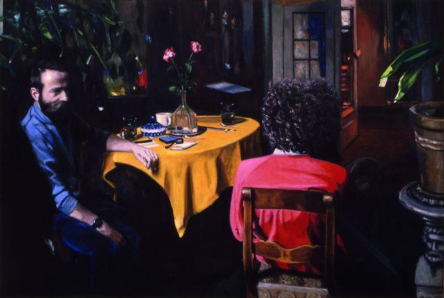 , 'Dwaj mężczyźni we wnętrzu / Two Men in an Interior,' 1987, Monopol