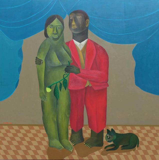 Salah Elmur, 'The Pink Suit', 2018, Gallery MOMO