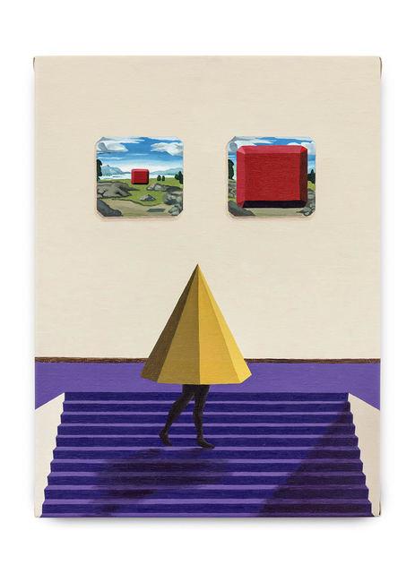 Max Gómez Canle, 'No modo cripta', 2017, Painting, Óleo sobre tela [oil on canvas], Casa Triângulo
