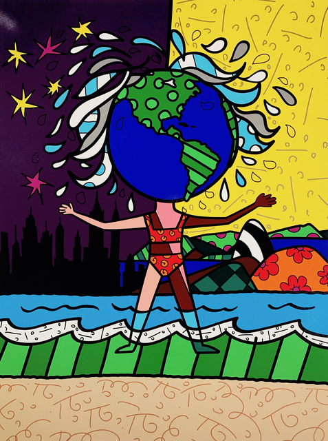 Romero Britto, 'Globe Generation Series – The Americas', 2015, Art Supermarket