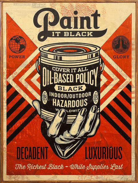 , 'Paint It Black (Hand),' 2014, Subliminal Projects