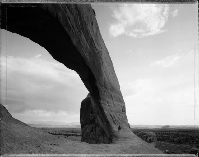 , 'Beneath the Great Arch, near Monticello, Utah, 6/21/82,' 1963, Etherton Gallery