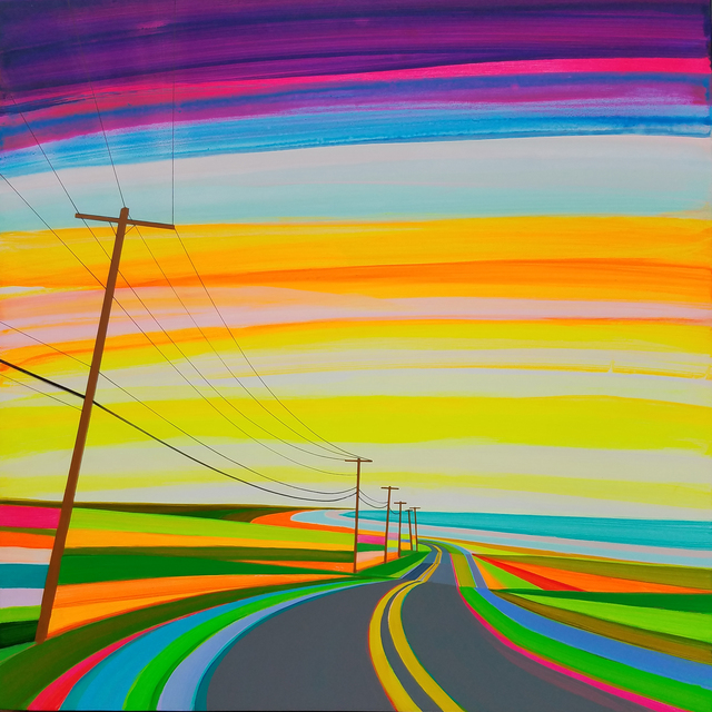 , 'Sunset on Old Montauk Highway,' 2017, Roman Fine Art