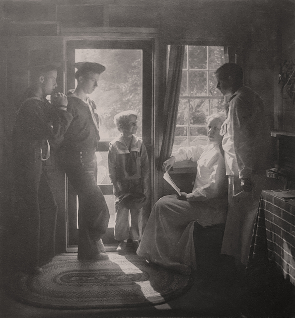 Gertrude Käsebier, 'Sunshine in the House (Clarence H. White and family)', 1913, Robert Klein Gallery