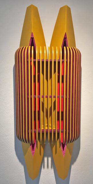 Dalton Maroney, 'Loov', 2020, Sculpture, Acrylic on wood, William Campbell Contemporary Art Inc